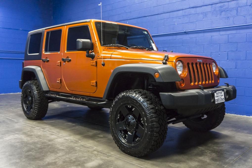 Used 2010 Jeep Wrangler, $28999